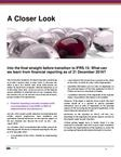 Transition to IFRS 15 – A Closer Look