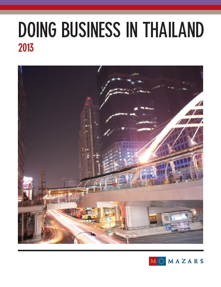 doing business in thailand pdf