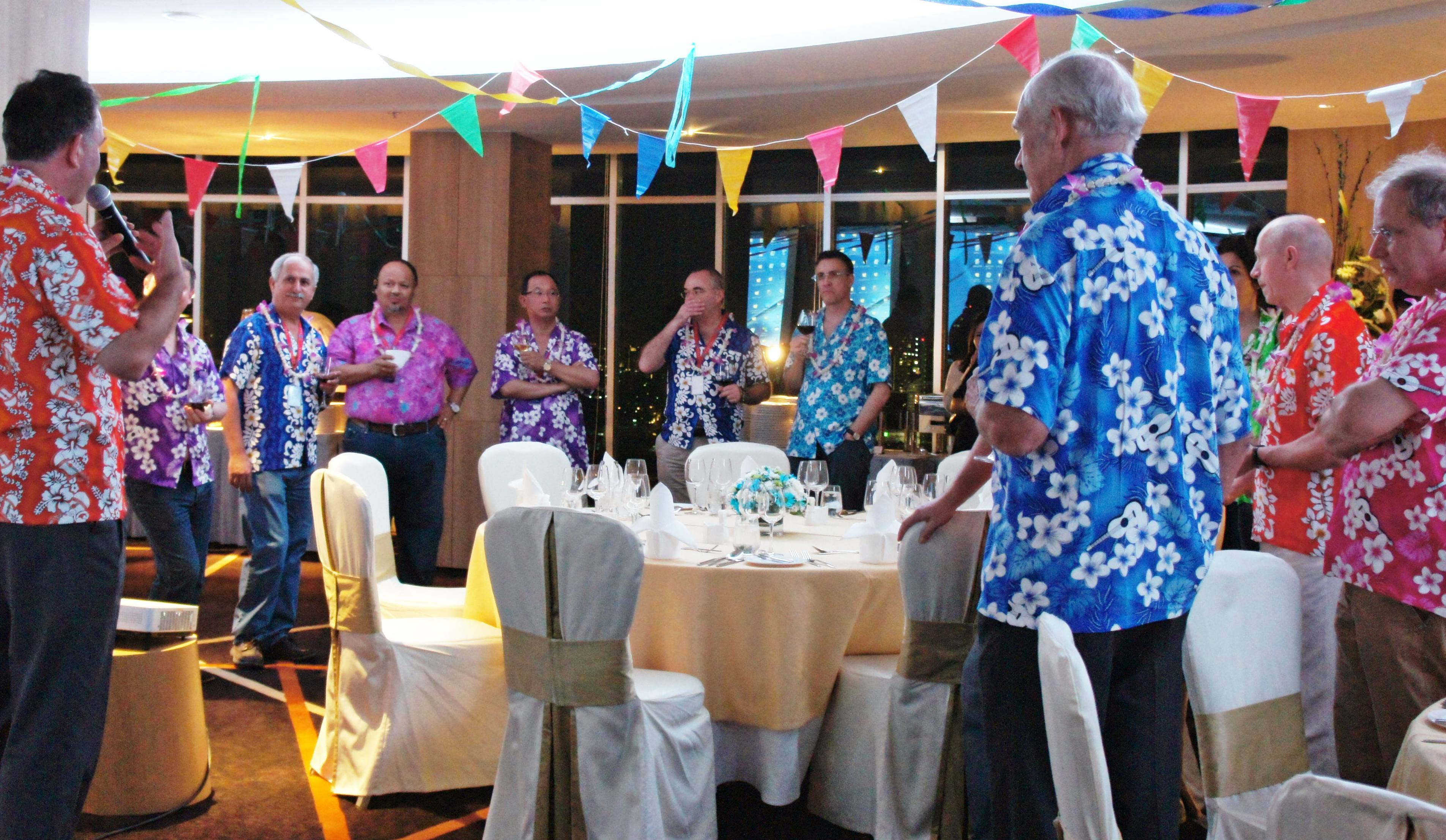 Songkran Themed Dinner Party For Mazars Partners Mazars